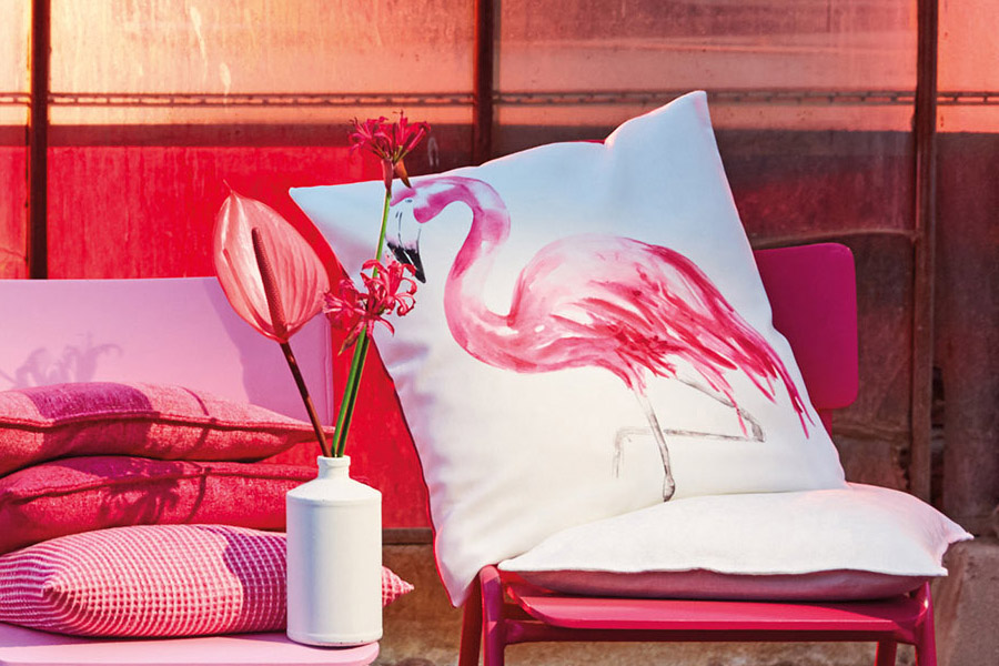 Pinco cushion cover - pink (50x50cm)