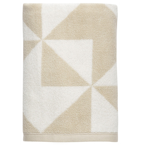 Graphic sand towel