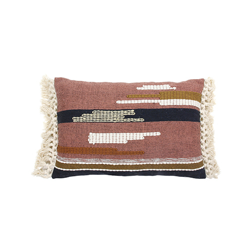 Aztec with tassels cushion cover - multi color (40x60cm) 속솜포함 제품