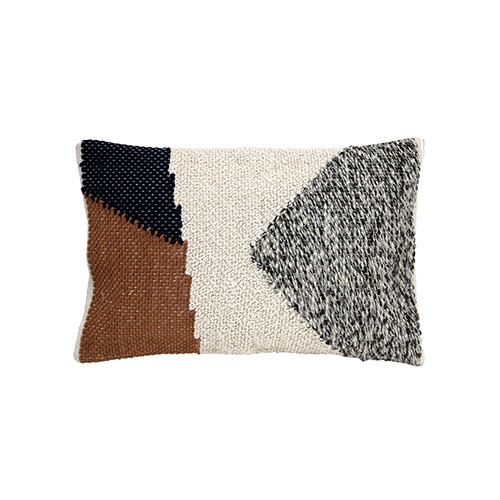 Knotted Autumn cushion cover - multi color (40x60cm)