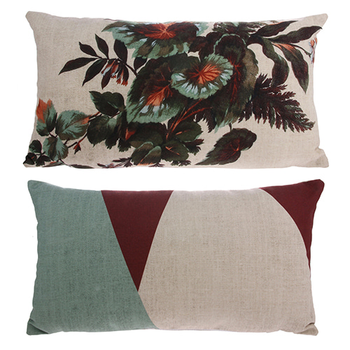 Kyoto cushion cover - multi color (35x60cm) 속솜포함 제품