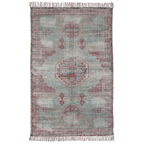 Printed Stonewashed rug - multi color (180x280cm)