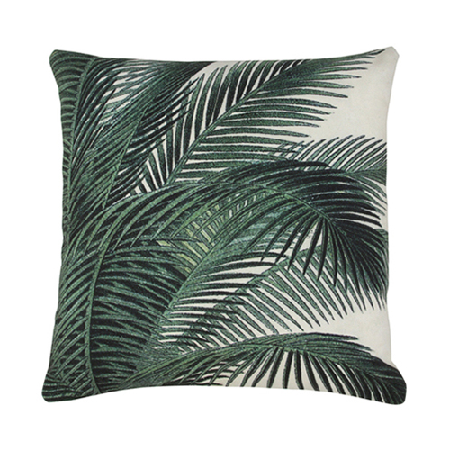 Palm Leaves cushion cover - printed (45x45cm) 속솜포함 제품