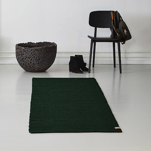 Ribbon Jute Rug - Forest